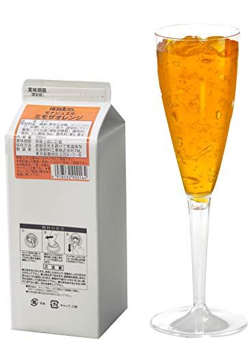 ハーダース モナジュエル ミモザオレンジ L-AC 720ml×12本入 ゼリー飲料 ゼリー飲料まとめ買い 業務用 ゼリー宝石 キラキラ インスタ映え 洋酒 ゼリー オレンジ 果汁 ミモザ