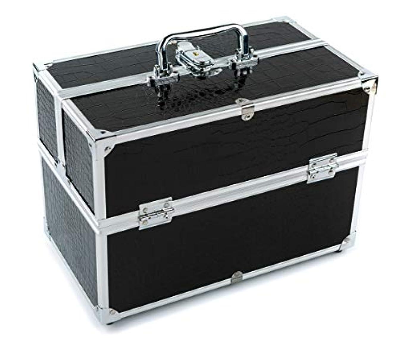 運営フィールド石灰岩GOGOS メイクボックス 持ち運び 人気 かわいい アルミ制 大容量 化粧品収納ケース コスメBOX コスメボック 化粧道具入れ 化粧品収納 取っ手付 祝日プレゼント