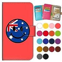 ガールズネオ apple iPhone XR 手帳型ケース カメラ開口有 (SMILE 国旗/オーストラリア) Apple iPhoneXR-PD-CPR-YSZ-0225