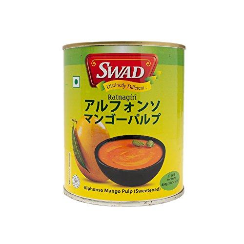 SWAD アルフォンソ マンゴーピューレ パルプ 850g 1缶 インド産