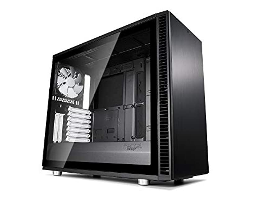 代理店今晩薄いFractal Design Define S2 - Black Tempered Glass ミドルタワー型PCケース CS7107 FD-CA-DEF-S2-BK-TGL