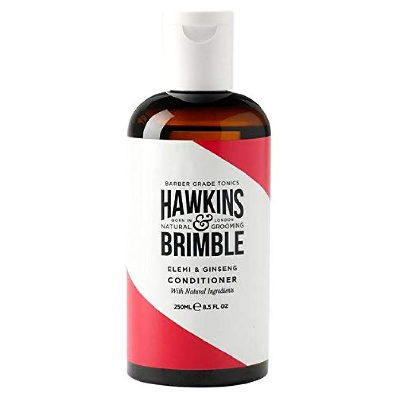 材料評論家匹敵します[Hawkins & Brimble] ホーキンス&Brimbleナチュラルコンディショナー250Ml - Hawkins & Brimble Natural Conditioner 250ml [並行輸入品]