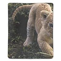 ライオンマウスパッド ゲーミング マウスパッド キーボードパッド パソコンデスクパッド 防水 18*22cm