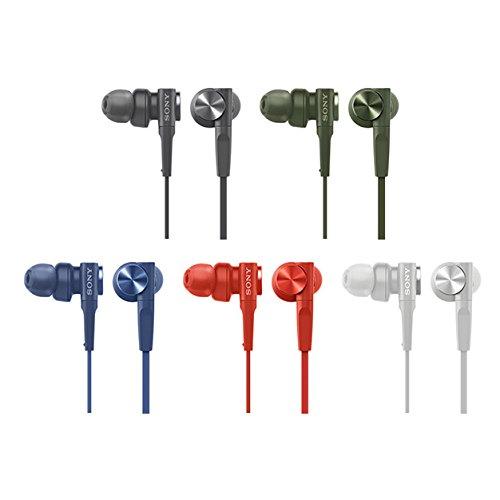 ソニー SONY イヤホン 重低音モデル MDR-XB55 : カナル型 レッド MDR-XB55 R