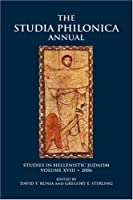 The Studia Philonica Annual: Studies in Hellenistic Judaism (Society of Biblical Literature)