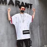 LuckyYumi 韓流グッズ 応援グッズ BIGBANG MADE G-DRAGON 大人気同型シャツ 韓国 男女兼用半袖シャツレディース メンズ 丸首 シャツ 応援品 (XXL, ホワイト)