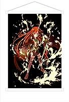 灼眼のシャナ B2タペストリー (シャナ) 壁掛け,168378