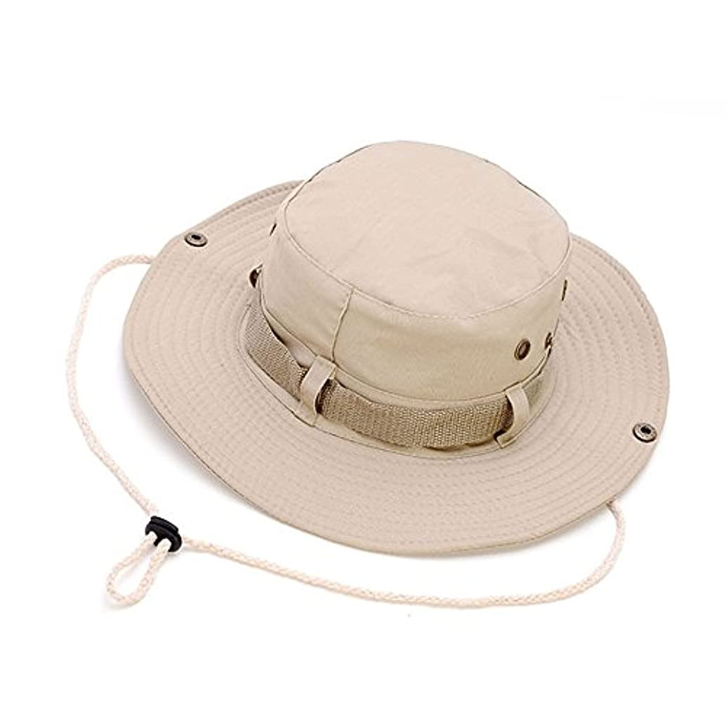 湖霊許可アウトドア 釣り用帽子 ラウンドリム バケットハット キャップ UV保護 サンハット レディース メンズ ハイキング キャンプ 旅行