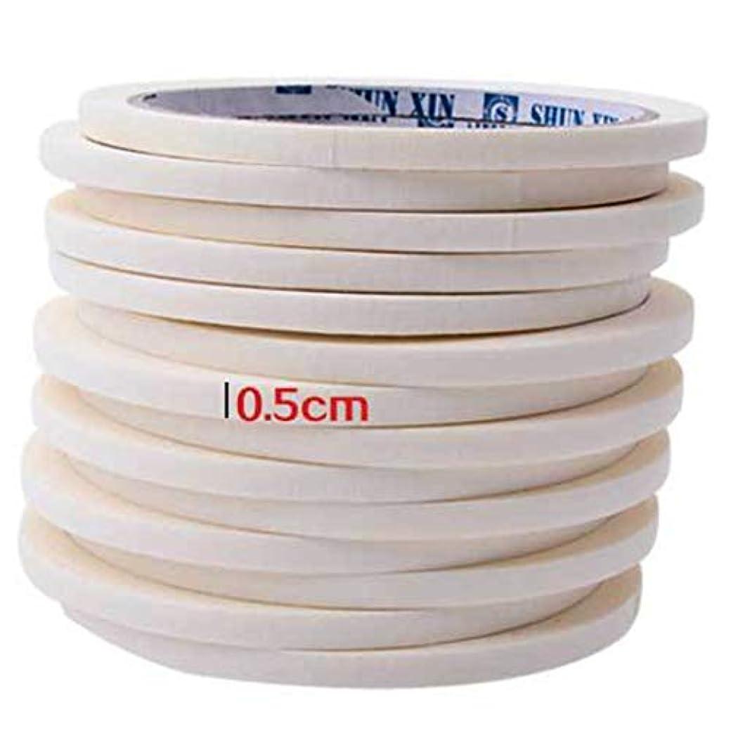 フラップ灌漑省略するBirdlanternネイルテープ0.5センチマスキングテープ装飾パターンネイルポリッシュツールマニキュアネイルアートネイルテープアクセサリー用マニキュア