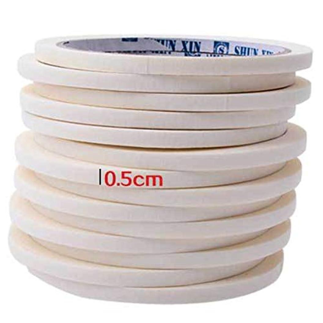 床ホラー歩き回るBirdlanternネイルテープ0.5センチマスキングテープ装飾パターンネイルポリッシュツールマニキュアネイルアートネイルテープアクセサリー用マニキュア
