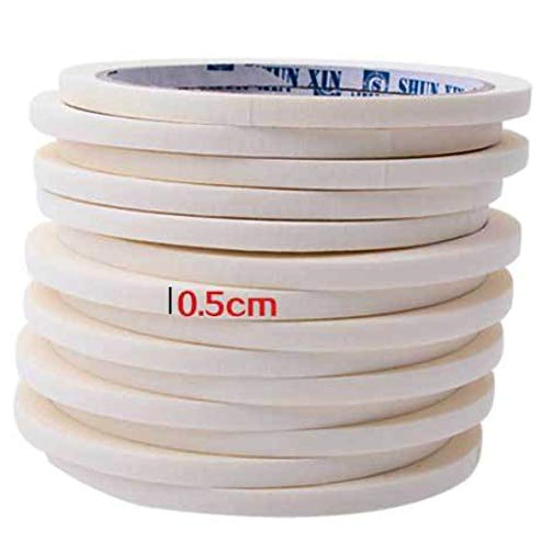 起こりやすい公使館ラボBirdlanternネイルテープ0.5センチマスキングテープ装飾パターンネイルポリッシュツールマニキュアネイルアートネイルテープアクセサリー用マニキュア
