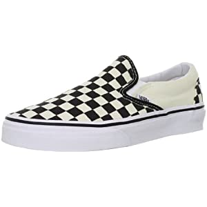 [バンズ] スニーカー BASIC Classic Slip-On VN-0EYEBWW Black and White Checker/White Black and White Checker/White US 8.5(26.5cm)