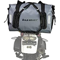 WILD HEART 防水 バッグ 55 L 77 L オートバイ ドライ ダッフル バッグ 旅行、バイク、サイクリング、ハイキング、キャンプ用