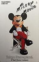 テレホンカード/ テレカ Tokyo Disneyland ミッキーマウス mickey mouse イス