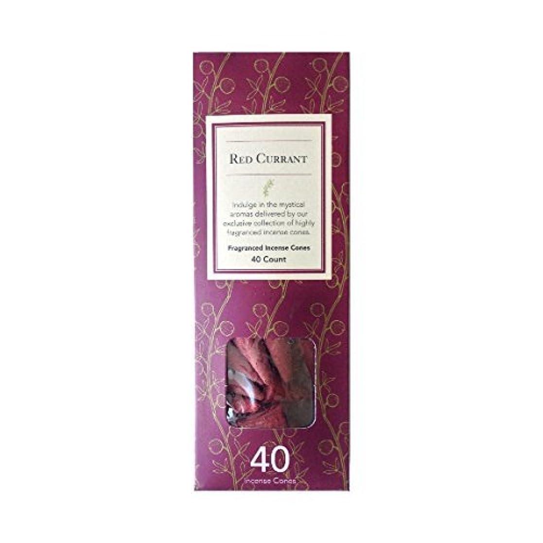 固めるなぞらえる実質的Flora Classique Red Currant Fragranced Incense Cones、40-ct。パック