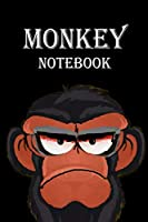 Notebook: Grumpy: Notebook for Monkey,: Funny Angry Monkey, Diary, Notebook, sketchbooks,   Planner and journal.