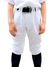 【スリムショートタイプ】野球 ユニフォームパンツ ズボン 下 キッズ ジュニア 少年 練習着 100cm~160cm 子供 小学生 パンツ SMILEDEADBALL スマイルデッドボール