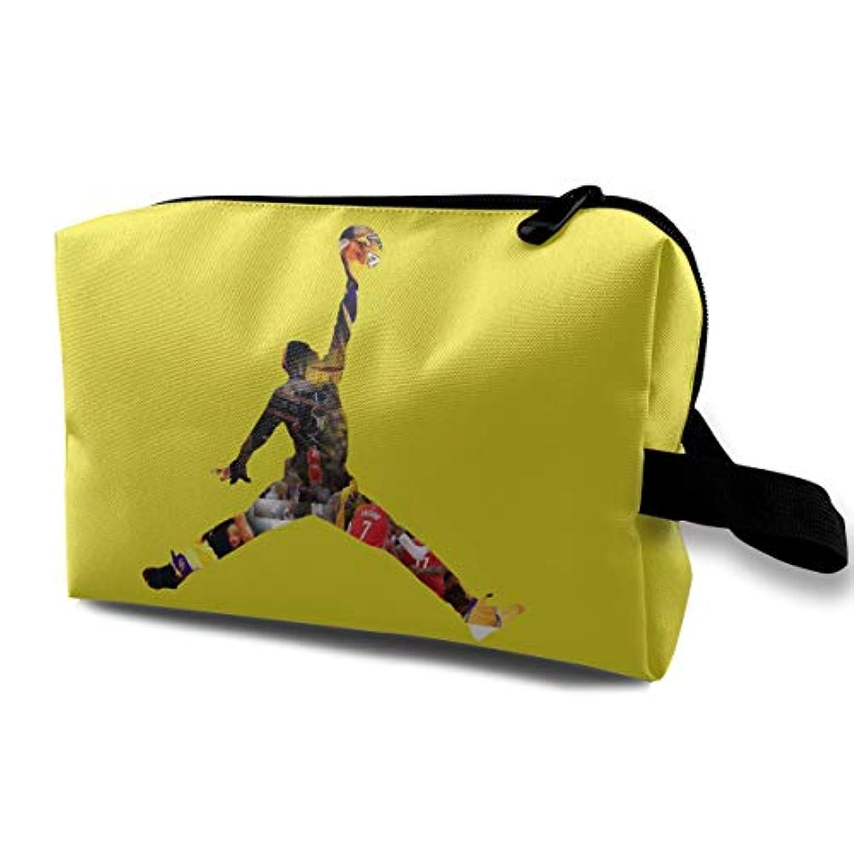 バスケットボール メンズ 化粧ポーチ 携帯用 化粧ポーチ 大容量 軽い 旅行ポーチ 洗面用具入れ 化粧ポーチ 収納 ハンドバッグ 財布 防水