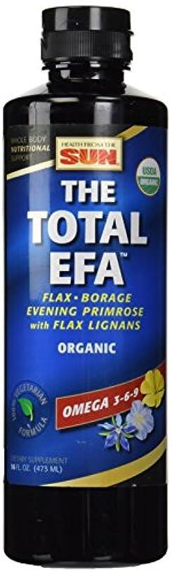 温度スケルトン同等のOmega3-6-9 The Total EFA Lignanベジフォーミュラ 473mL 海外直送品