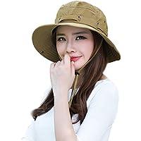 日除け帽 つば広帽子 UVカット 紫外線対策 レディース 帽子 春夏 ハット 小顔効果 サイズ調節 女優帽