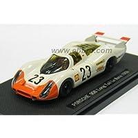 エブロ 1/43 ポルシェ 908 ロングテール ルマン 1969 #23 ホワイト/オレンジ 完成品