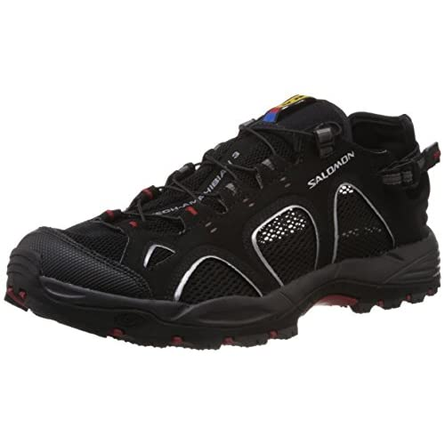 [サロモン] SALOMON TECHAMPHIBIAN 3 L12847800 L12847800 (BLACK/AUTOBAHN/FLEA/27)