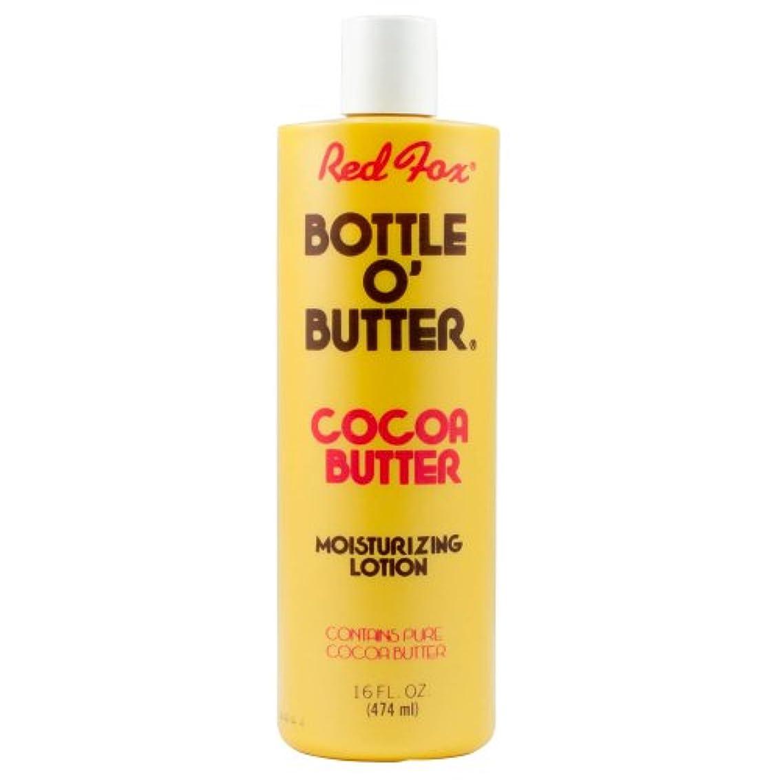 エキスパートきらめき相続人Red Fox Bottle O'Butter Cocoa Butter Lotion 475 ml (並行輸入品)