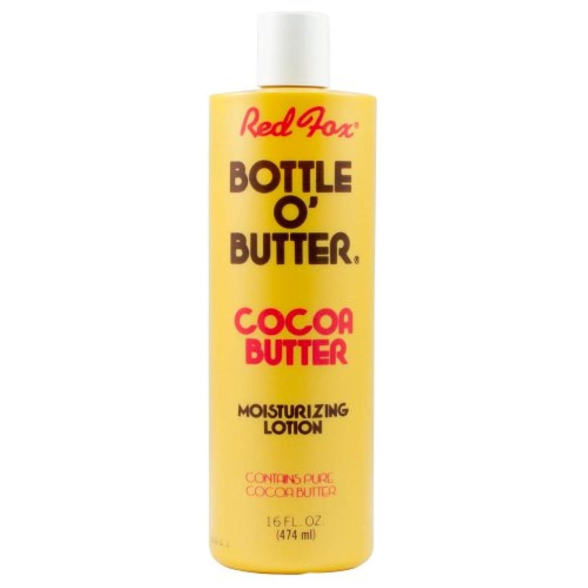 課税同様にストレスの多いRed Fox Bottle O'Butter Cocoa Butter Lotion 475 ml (並行輸入品)