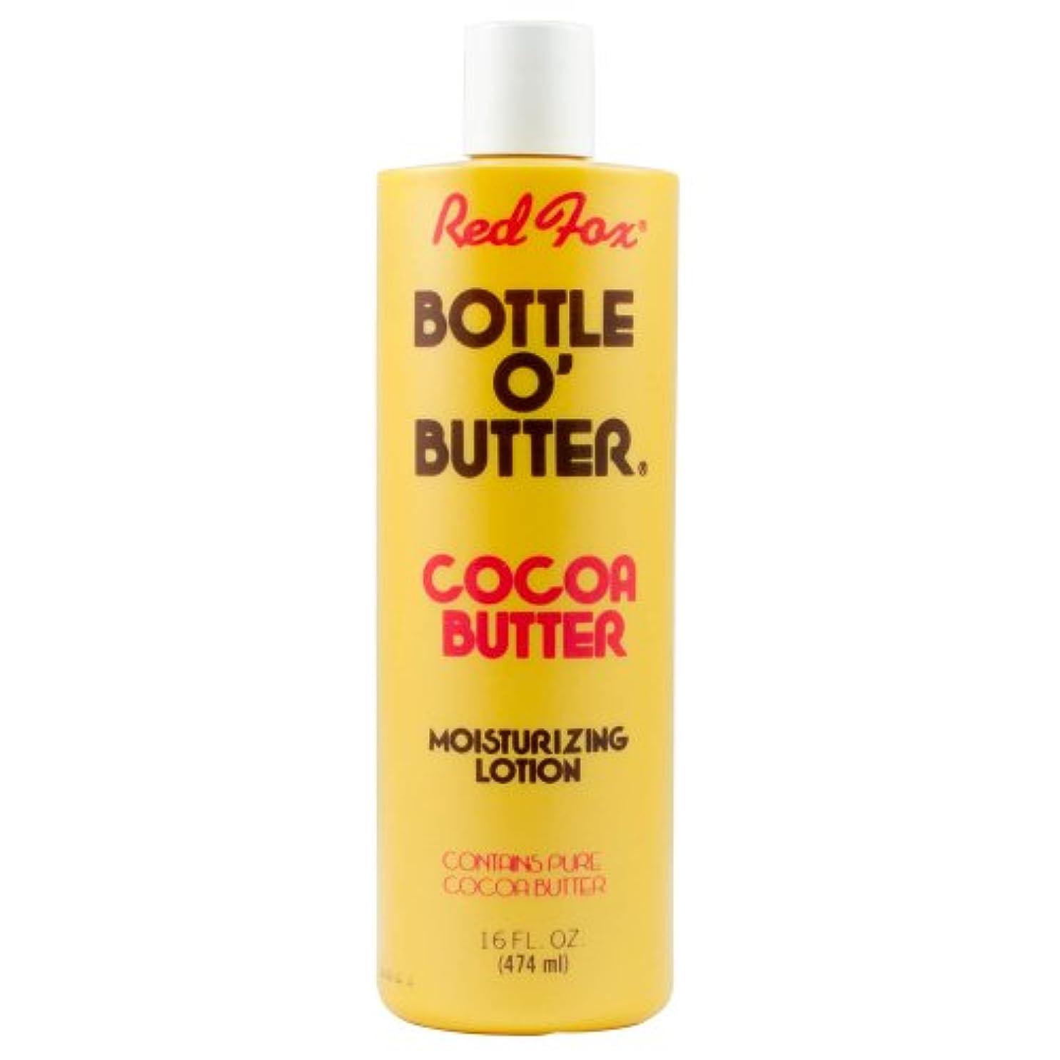 津波慣れている寸法Red Fox Bottle O'Butter Cocoa Butter Lotion 475 ml (並行輸入品)