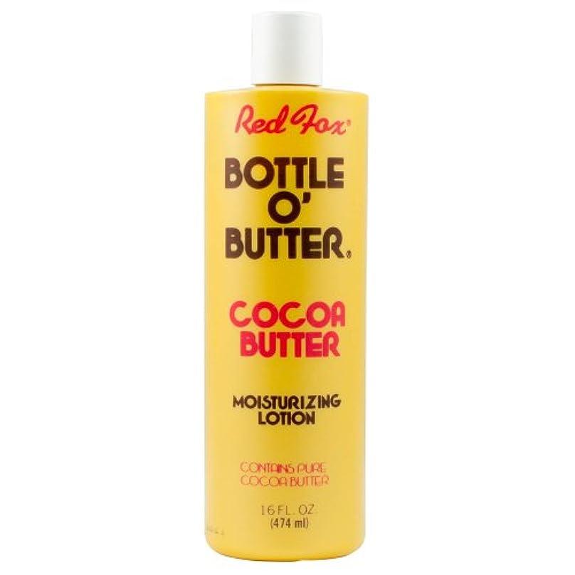 雨のできたバラバラにするRed Fox Bottle O'Butter Cocoa Butter Lotion 475 ml (並行輸入品)