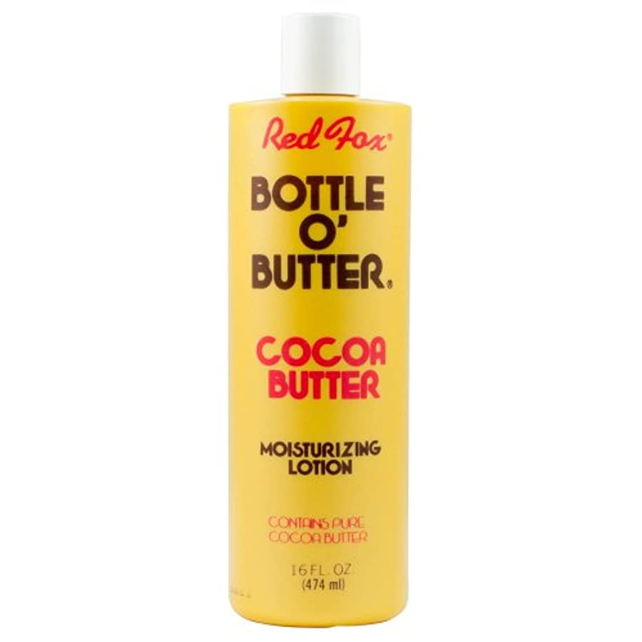 創傷文刃Red Fox Bottle O'Butter Cocoa Butter Lotion 475 ml (並行輸入品)