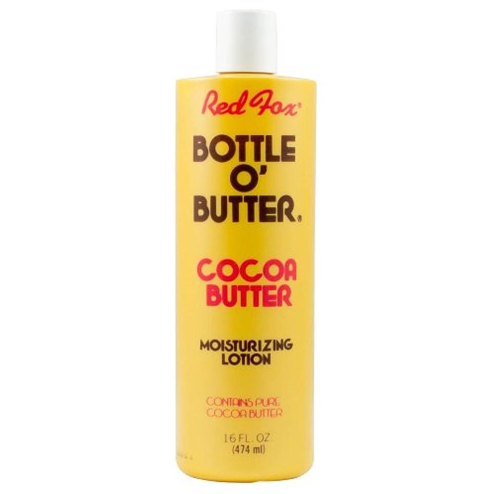オペレーター可決外国人Red Fox Bottle O'Butter Cocoa Butter Lotion 475 ml (並行輸入品)