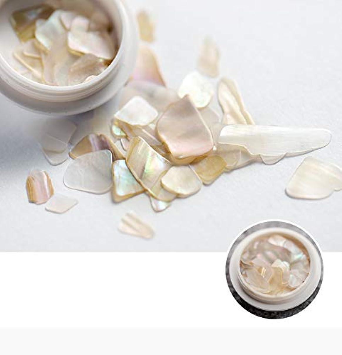 啓発する上下するトレイネイル石パーツ ネイル貝殻風 シェル 貝 レジン ジェルネイル ネイルアート ネイルパーツ (6)