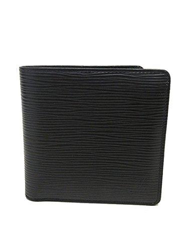 LOUIS VUITTON(ルイヴィトン) エピ ポルトフォイユマルコ 二つ折り財布 M62289 ノワール ブラック 黒 【ブランド財布】 【中古】
