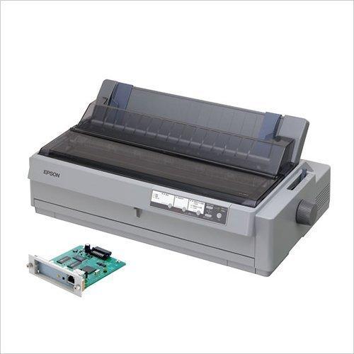エプソン インパクトプリンター 24ピン 136桁 6枚複写(オリジナル+5枚) 英数360字/秒 NIC対応 連続紙トラクタ2基 スーパーマルチウェイ VP-1900N