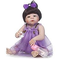 SanyDoll Rebornベビー人形ソフトSilicone 22インチ55 cm磁気Lovely Lifelike Cute Lovely Baby b0763l8 m85