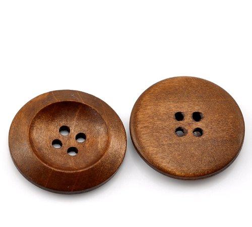 木製ボタンのイメージ例