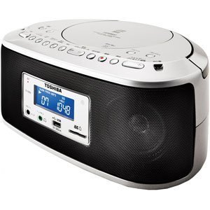 TOSHIBA CUTEBEAT SD/USB/CDラジオ TY-CR50(S)