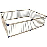 安全フェンス、室内ベビークロウリング幼児フェンスベビーホームソリッドウッドセーフティフェンス子供の遊びフェンス (サイズ さいず : 180 * 200cm)