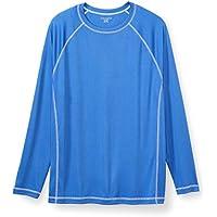 Amazon Essentials Men's Big & Tall Long-Sleeve Quick-Dry UPF 50 Swim Tee Swimwear