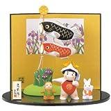 錦彩鯉のぼり飾り 金太郎
