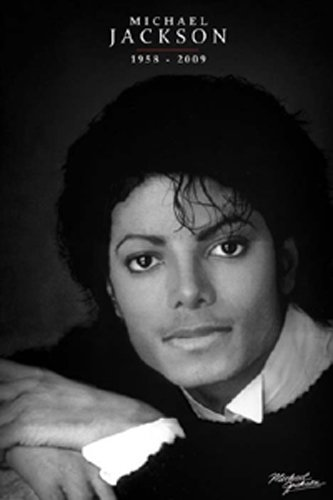 ポスター マイケルジャクソン/ブラック&ホワイト PP-31936