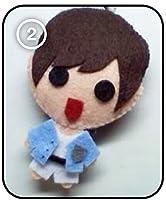 SHINee シャイニー Jonghyun ジョンヒョン - Sherlock KPOP 手作り縫いぐるみキーチェーン