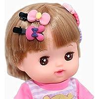 Sindy Baby おせわパーツ メルちゃん 専用 ヘアクリップセット 髪留め 前髪クリップ ヘアピン【10個セット】
