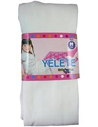 ガールズファッションタイツMedium Ages 4 – 6 – GirlsファッションHosiery Coloredタイツ(ホワイト)