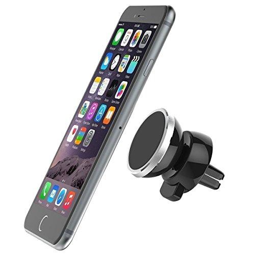 Smart Tap スマートタップ ブラックメタルプレート マグネットホルダー用 (2枚入り・保護シール付) 四角タイプ 車載ホルダー マグネット式 iPhone 6s (4.7) / Plus (5.5) / 5s / 5c / 4s Galaxy S6 / S6 Edge / S5 / S4【iPhone4/5/6s/Plus /Galaxyシリーズ/他、適合機種多数】