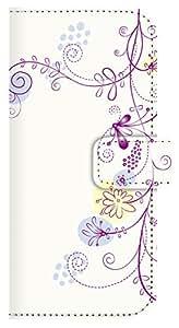 2014-2015 冬春モデル For ドコモ AQUOS ZETA SH-01G sh-01g ストラップホール付 jiang おしゃれ かわいい 22-sh01g-ds0027 ダイアリーケース 手帳型 スマホケース 999 04 花と蝶