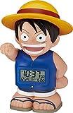 ONE PIECE (ワンピース) キャラクター目覚し時計 麦わらのルフィ おしゃべり・人感センサー機能搭載 8RDA50RH04