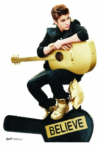 Justin Bieber Believe with Guitar Lifesize Standup Poster [並行輸入品]