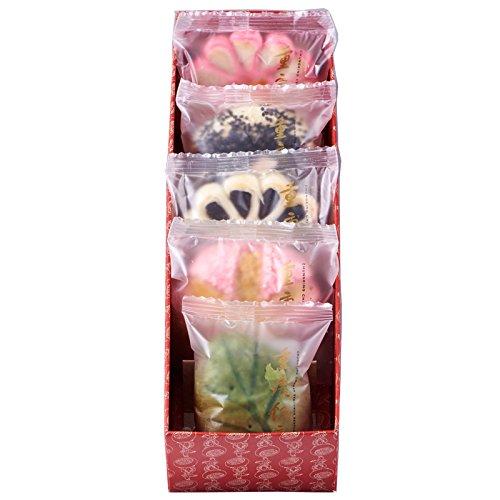 中華菓子 詰め合わせ5個入(チュウカガシ) 重慶飯店人気の華やかな5種類の定番中華菓子のセット